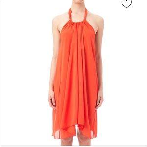 Elan Women's Beach Dress/ Cover Up Orange Small